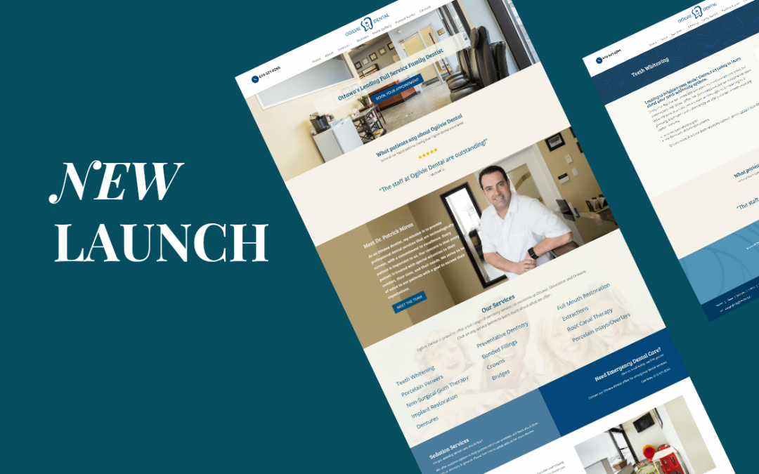 Just Launched: Custom Dental Website